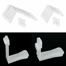 4 Plastic Sheet Holders Bed Clip Gripper Fasteners Mattress Cover Fix Peg Holder