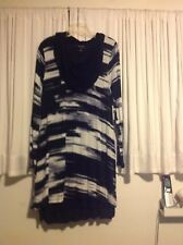 NWT Kensie Cowl Neck Dress SUPER SOFT Sz XL