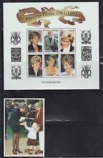 Lesotho 1089-90 Princess Diana Mint NH