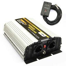 Spannungswandler Inverter MS 12V 2000 4000 Watt incl. Kabelfernbedienung NEU
