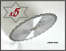 5 x Blade 136mm x 16 / 20mm  30T Metal Cutting Blades for Makita BCS550, B-10615