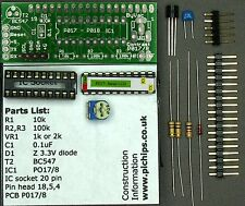 Serial LCD IC kit for the Raspberry Pi, Arduino PWM Backlight, P017