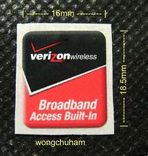 Verizon Wireless Broadband Access Built-In Sticker