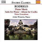 Rodrigo: Piano Music; Artur Pizarro - Suite for Piano  / Album for Cecilia (CD)
