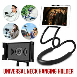 Lazy Bracket Mobile Phone Neck Hanging Flexible Stand Holder For Samsung iPhone