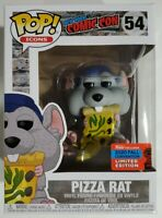 Funko POP! PIZZA RAT NYCC 2020  ICONS New York Comic Con - NEW! Free Shipping