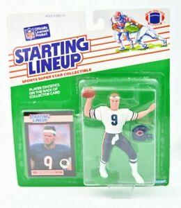 NEW NOS 1989 Kenner NFL Starting Lineup Jim McMahon Chicago Bears SLU C