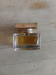 Miniature parfum The One DOLXE GABBANA PLEINE