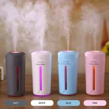 Portable LED Humidifiers Essential Oil Diffuser Aromatherapy Air Purifier 230ML