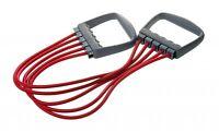 Schmidt Sports- Deuser Expander 11900.  5 Kabel. Gymnastik. Krafttraining. rot.