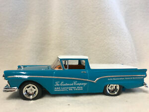 Spec Cast 263500 1957 Ford Ranchero With Tonneau Cover Bank