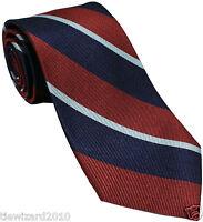 New Authentic Royal Air Force RAF Regimental Silk Striped Tie