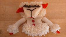 Vintage Lamb Chop Hand Knit Hand Puppet Shari Lewis ?