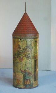 très rare boite publicitaire , LE MOULIN de la GALETTE , tôle lithographiée