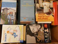 45 Bücher Hardcover Romane Sachbücher verschiedene Themen Paket 5