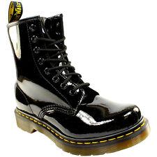 Dr. Martens 1460 - 8 Eye Boot Patent BOOTS Black Eu39
