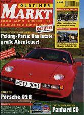 Markt 12/97 1997 Fiat 508 Balilla 220S Heckflosse Panhard CD Porsche 928 Renault