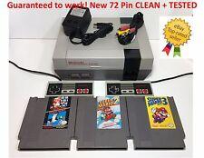 Nintendo NES Console System Bundle NEW PIN Games Super Mario Bros. 1 2 3
