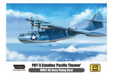 """WOLFPACK WP17204 WWII US Navy PBY-5 Catalina """"Pacific Theater"""" in 1:72"""
