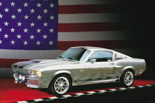 Ford Mustang Shelby GT500 1967 Poster 24 x 36 American Muscle Car Print USA New