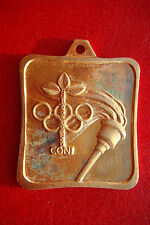 RARE OLD ITALY CONI Italian National Olympic Committee Youth games BRONZE MEDAL