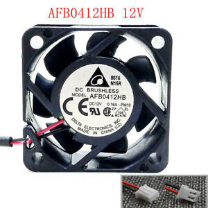 for Delta AFB0412HB 12V DC 0.16A Fan 40mm x 40mm x 15mm