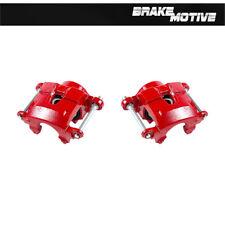 Front Red Brake Calipers For S10 Blazer Pickup Regal Camaro Monte Carlo Firebird