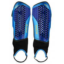Mitre Aircell Carbon Football Shinguard Shinpad + Ankle Blue