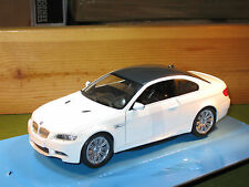 BMW M3 Coupe In White 1/24th Scale