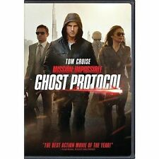 Mission Impossible Ghost Protocol 0097363558842 With Tom Cruise DVD Region 1