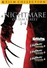 4 Film Favorite Nightmare on Elm Stre 0794043124549 DVD Region 1
