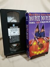 Mary-Kate & Ashley Olsen: Double, Double Toil and Trouble (VHS, 1993)