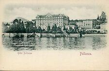 CARTE POSTALE / POSTCARD / ITALIA / ITALIE / PALLANZA HOTEL PALLANZA