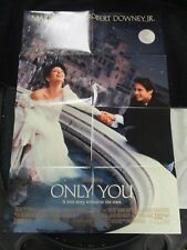Vintage Movie Poster 1 sh Only You Robert Downey Jr. Marisa Tomei 1994