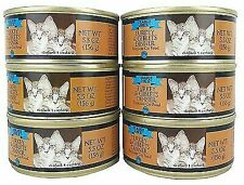(6) 5.5 OZ CANS - TRADER JOE'S Turkey & Giblets WET CAT FOOD