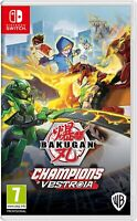 Bakugan: Champions of Vestroia (Nintendo Switch) BRAND NEW FACTORY SEALED NSW!