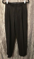 Men's Enzo Mantovani Zignone Wool Cashmere Gray Dress Slacks Pleated Size 39 36