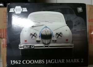 John Coombs 1962 Jaguar Mark 2 - 1:18 Scale Model by Model-Icons