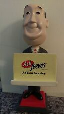 *VERY RARE* Ask Jeeves Butler Promotional Bobble Head & Card Holder