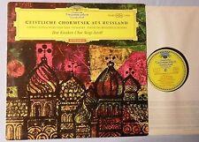 Jaroff, Serge & Don cosacchi-geistl. coro MUSICA A. la Russia-LP'64 tulip label