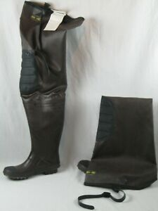 Proline men's D501-T  Rubber Hip Wader Boot  - Size 8 New with Tags