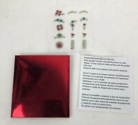 PENTHOUSE Sparkly Holiday Christmas Nail Art * 15 Nail Gem Clusters - FSTSHP