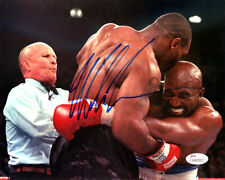 MIKE TYSON AUTHENTIC AUTOGRAPHED SIGNED 8X10 PHOTO BITE FIGHT JSA 123807