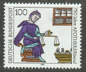 Germany 1991 MNH Mi 1490 Sc 1620 Pharmacy.Medical **