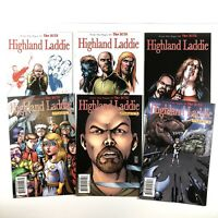 THE BOYS: HIGHLAND LADDIE 1-6 DYNAMITE COMIC COMPLETE SET GARTH ENNIS 2010 VF/NM