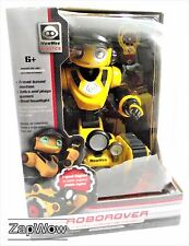 """ROBOROVER 2008  15"""" Interactive Remote RC Robot WowWee Robotics Mint Boxed 2000s"""