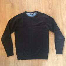 Brave Soul Crew Neck Jumper in Brown, Size: M *Good Condition*