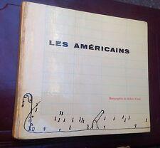 Les Americains Photographie Robert Frank. 1^ Ed. francese R. Delpire Paris 1958