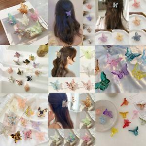 Acetate Hairpin Butterfly Hair Clip Hair Accessories Hair Barrettes Hair Claws