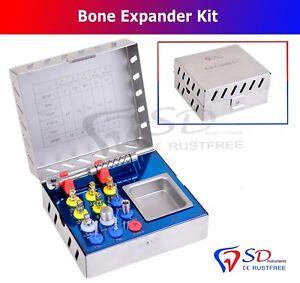Dental Bone Expander Kit Sinus Lift 12 Pcs Implant Surgical Instruments NEW